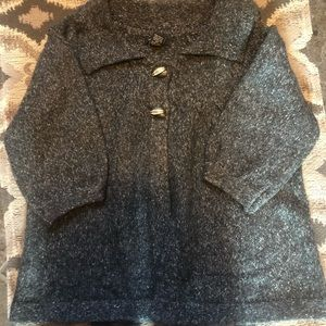 Bcbg gray sweater size large
